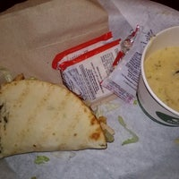 Photo taken at Quiznos by Renee L. on 1/24/2013