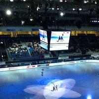 Photo taken at Iceberg Skating Palace by Black F. on 12/9/2012