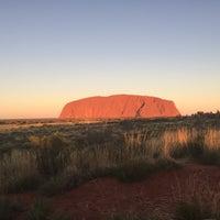 Photo taken at Uluru by Cara M. on 5/10/2017