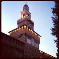 Foto scattata a Castello Sforzesco da Si I. il 7/25/2013