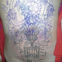 Photo taken at Lifetime Tattoo by Anna F. on 1/19/2013