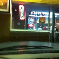 Photo taken at Collins Burger Mart by The Preacher on 11/29/2012