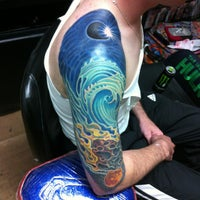 Photo taken at Trinity Tattoo Co. by Dave L. on 10/24/2012