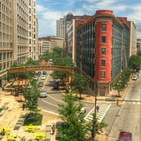Photo taken at East 9th Street (Rock and Roll Boulevard) by Edie C in the CLE p. on 6/30/2015