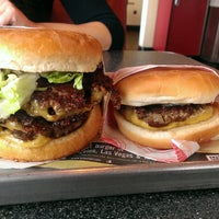 Photo taken at Fatburger by Brandon A. on 1/26/2014