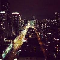 Photo taken at Empire Landmark Hotel by Sharkhanova E. on 12/29/2012