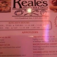 Photo taken at Reale's Restaurant & Bar by Paris C. on 2/23/2013
