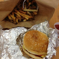 Photo taken at Five Guys by G Bernard G. on 1/5/2013
