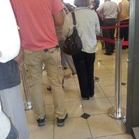 Photo taken at Banco Santander by Paloma M. on 12/14/2012