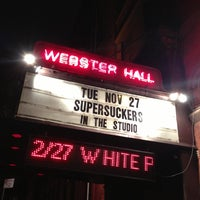 Photo taken at The Studio at Webster Hall by Ryan A. on 11/28/2012