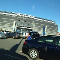 Photo taken at Meadowlands Parking Lot by Ryan A. on 8/24/2013