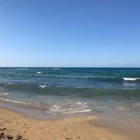 Photo taken at Potamos Beach by RM on 8/15/2018