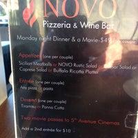 Photo taken at Novo Pizzeria & Wine Bar by Damian J. on 4/15/2013