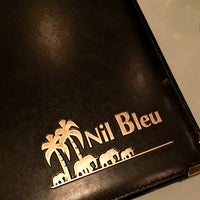 Photo taken at Le Nil Bleu by Stéphan P. on 1/17/2016