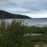 Photo taken at Baie-Saint-Paul by Stéphan P. on 8/12/2015