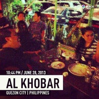 Photo taken at Al Kho' Bar And Resto by Jay L. on 6/28/2013
