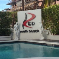 Photo taken at RED South Beach Hotel by Gerri C. on 1/15/2013