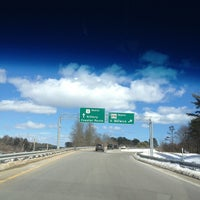 Photo taken at New Hampshire / Maine State Line by Barbara B. on 3/23/2013