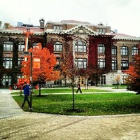 Photo taken at Bowne Hall by Ariel on 12/5/2012