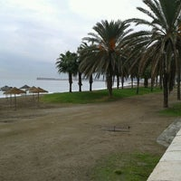 Foto tomada en Playa de La Malagueta por Pedro P. el 11/18/2011