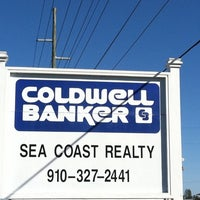 Photo taken at Coldwell Banker Sea Coast Realty Sneads Ferry by Sheri McDermott @ C. on 10/16/2011