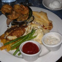 Photo taken at Riverwalk Restaurant by Kimberly V. on 1/13/2012
