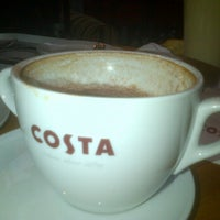 Photo taken at Costa Coffee by David B. on 11/21/2011
