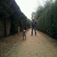 Photo taken at Chiswick House Maze by Mikhail U. on 12/28/2011