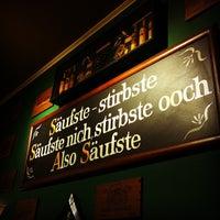 Photo taken at Zum Hecht by Tom N. on 10/28/2011