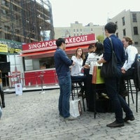 Photo taken at Gansevoort Plaza by Alley on 9/17/2011