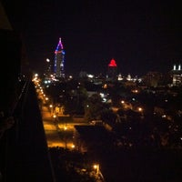 Photo taken at Rooftop Terrace @ Ryan Park Tower by Allie L. on 9/6/2012