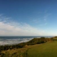 Photo taken at Bandon Dunes Golf Resort by Brandon G. on 12/30/2012