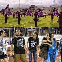 Photo taken at Bobby Lackey Stadium by Jorge G. on 9/14/2013