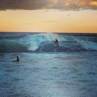 Photo taken at Bondi Beach by Charles F. on 4/22/2013