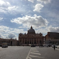 Photo taken at Piazza Pio XII by Serg ✪ P. on 5/7/2013