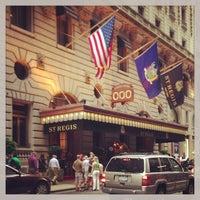 6/18/2013にSpencer H.がThe St. Regis New Yorkで撮った写真