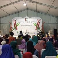 Photo taken at Islamic Center Bekasi by Nila R. on 11/12/2016