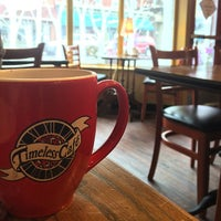 Photo taken at The Timeless Cafe by Becky W. on 4/15/2014