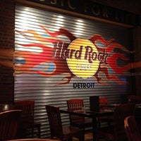 Photo taken at Hard Rock Cafe Detroit by Jordan B. on 7/13/2013