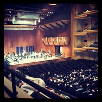 Photo taken at David Geffen Hall by Bobby J. on 11/20/2012
