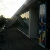 Photo taken at Autobahnkirche Baden-Baden by Björn S. on 10/5/2012