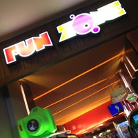 Photo taken at FunZone by Barbie P. on 2/11/2013