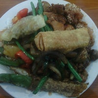Photo taken at A+ Buffet Mongolian Grill by Aaron C. on 2/24/2013