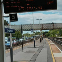 Photo taken at Brockenhurst Railway Station (BCU) by Peter J. on 5/29/2013