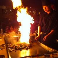 Photo taken at Kobe Ninja House Japanese Grill by Tim B. on 12/30/2012