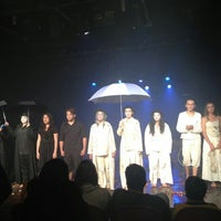 Photo taken at Teatro Escola Macunaíma by Vitória V. on 4/22/2013