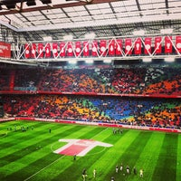 Photo taken at Amsterdam ArenA by Marnix V. on 3/10/2013
