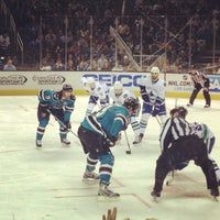 Photo taken at SAP Center by Kim S. on 4/2/2013