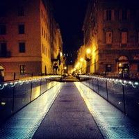 "Photo taken at Passaggio Joyce ""Ponte curto"" by Mauro C. on 6/11/2013"