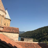 Photo taken at Ananuri Castle Complex by Таму Т. on 9/2/2017